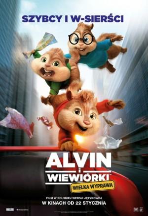 Alvin i wiewiórki Wielka Wyprawa 2015