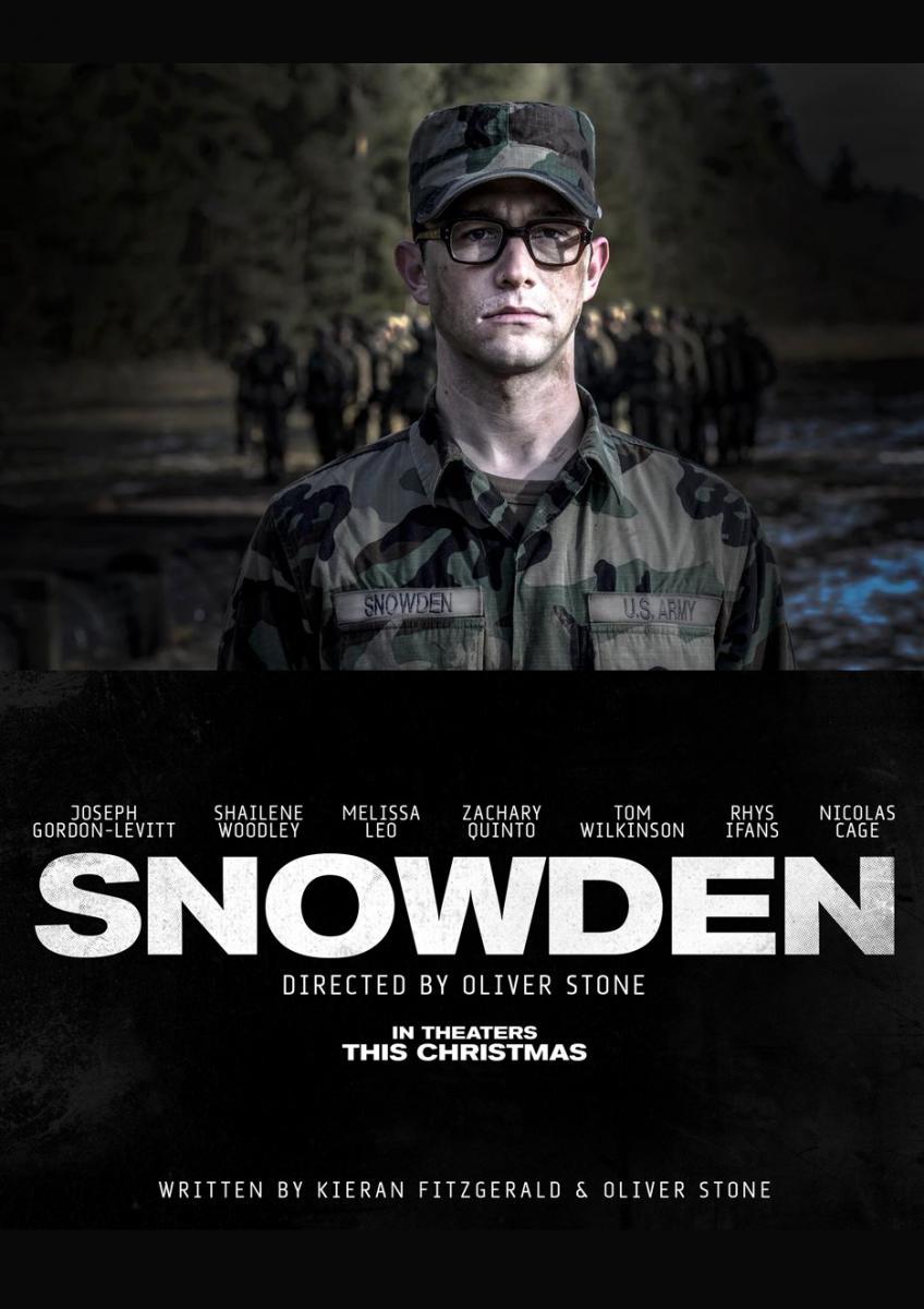 Snowden Oliver Stone film