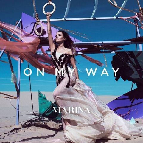 MaRina On My Way okładka albumu